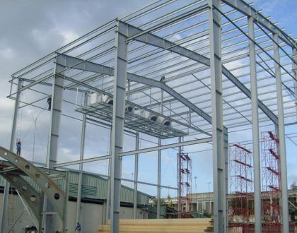 Kết cấu thép – Thi công kết cấu thép | Dragon Steel