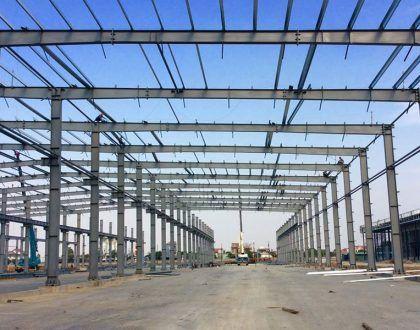 Sản xuất kết cấu thép giá rẻ tại Hà Nội